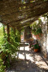 Terrace at Arte Umbria
